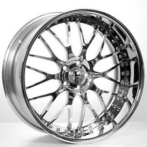 4 20 Staggered Ac Forged Wheels Rims 313 Ch 3 Pcs B1