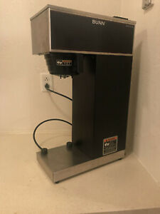 used Bunn Vpr aps Airpot Commerical Coffee Maker Pourover Black