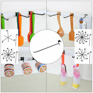Slat Wall Hooks 1 8 Inch Dia Metal Board Rack For Shop Store Display Products