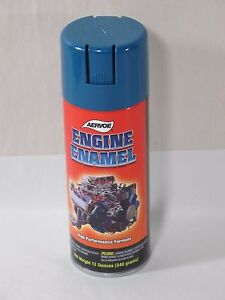 Aervoe 562 Engine Enamel Paint G m Blue 12 Oz Can Case Of Six Cans