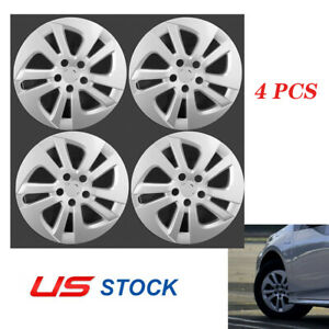 4pcs Silver 15 Wheel Covers Hub Caps For Toyota Prius 2016 2017 61180 Us Stock
