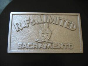 Rat Fink Club Plaque Hot Rod 32 Ford Dragster Barris Vintage Von Dutch Roth
