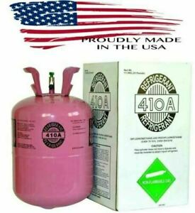 R410a R 410a R 410a Refrigerant 25lb Tank New Factory Sealed made In Usa