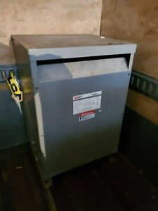 Fpt Federal Pacific 45kva Electrical Transformer T4t45 480 208y120