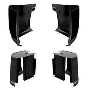 Inner Outer Cab Corner Kit For 55 59 Chevy Gmc Ck Pickup Truck 2nd Series