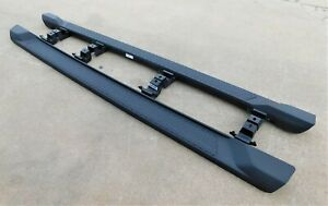 2020 Jeep Gladiator Running Boards Oem 68341196aa 68341197aa W brackets