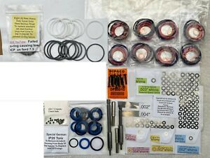 7 3l Powerstroke Injector Rebuild Kit Int Seals Springs Plus Shims