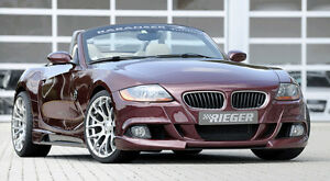 Rieger Oem Front Bumper Spoiler For Bmw Z4 E85 Roadster 2003 2005 Brand New