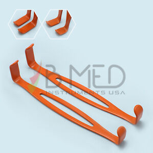 Or Grade Leep Us Army Retractors Set Insulated Surgical Plastic Surgery