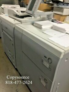 Canon Imagepress C700 Color Copier W finisher And Large Paper Deck fiery