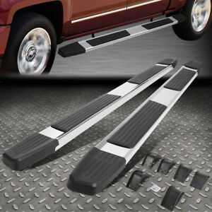 For 09 20 Dodge Ram 1500 Quad Cab 6 Chrome Ss Flat Side Step Bar Running Boards