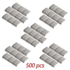 500pc Dental Air Water Syringe Nozzles Tips T ube Metal Alloy Autoclave