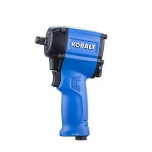 Air Impact Wrench Compact Durable Built In Muffler Reduced Noise Tool 1 Reverse