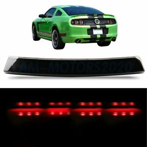 Smoke Fit For 1999 2004 Ford Mustang Led 3rd Third Brake Light Tail Stop Lamp