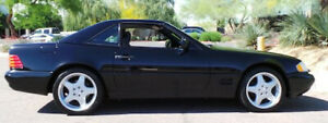 1998 Mercedes Benz 500sl Removable Roof Hard Top For Blue Convertible