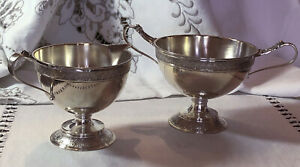 Sterling Silver Sugar And Creamer Set By John Wendt No Monograms