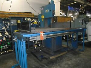 Doall 2018 dw60 Cnc Vertical Plate Saw Fanuc Control New 2009
