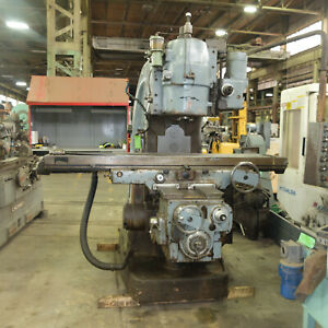 Supermill Model Vr 5 Vertical Milling Milling Machine With 53 Travel