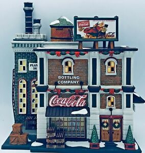 "Department 56 ""Coca Cola Bottling Company"" Christmas In The City Series #59258"