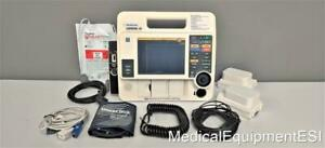 Physio Lifepak 12 Biphasic 3 Lead Spo2 Nibp Aed Pacing Patient Monitor