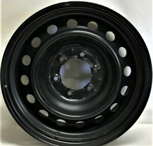 17 Inch 6 On 5 5 Black Steel Wheel Fits Tacoma 4runner Fj Cruiser We40596t