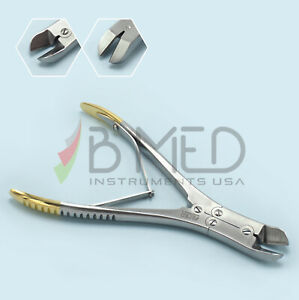 Or Grade Tc Side Pin Wire Cutter Orthopedic Cns 7 Angled Cerclage
