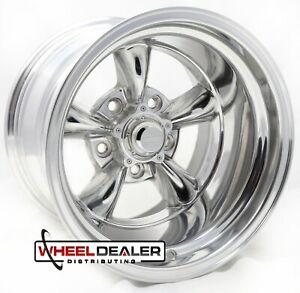 American Racing Vn515 Torque Thrust Wheels Rims 15x10 5x4 75 Polished Gm Cars