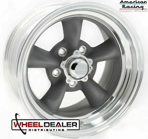 15 Inch Staggered American Racing Vn215 Torq Thrust Wheels Rims C10 Squarebody