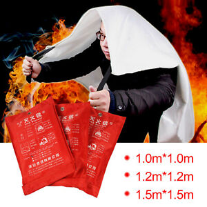 Home Office 1 1 5m Safety Large Fire Blanket For Emergency Extinguishing Escape