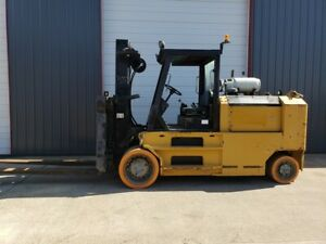 40 000 Lbs Taylor Solid Tire Forklift For Sale