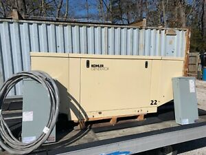 22 Kw Kohler Lp Or Natural Gas Generator multi Residential Or Light Industrial