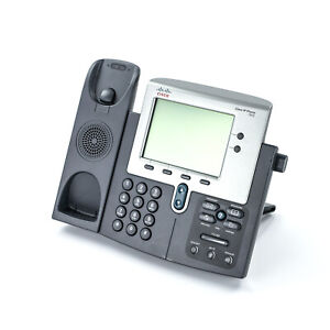 Cisco Cp 7942g Unified Ip Phone Voip Telephone 4 bit Grayscale Display Base Only