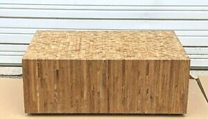 End Grain Coffee Table Bench Custom Made One Of A Kind Original