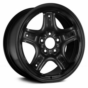 Brand New 17x7 5 Black Steel Wheel rim Fits 2010 2011 2012 Ford Fusion 03796