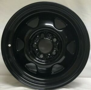 15 Inch Black Steel Wheels Fits Cherokee Comanche Wagoneer Wrangler We9209bt