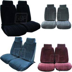 86 88 Olds 442 Cutlass Supreme Front Bucket Seat Upholstery Covers Color Choice