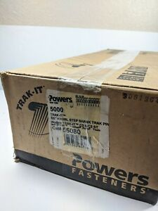 Powers Fasteners Trak It 5000 7 8 Knurl Step Shank Pin 55080 Expired Fuel Cell