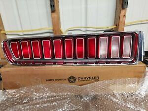 1973 1974 Charger Nos Tail Light