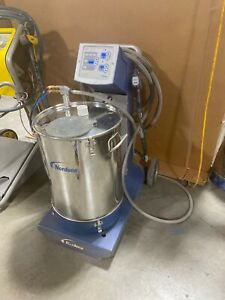 Nordson Encore Lt Manual Powder Coating System W 50lb Hopper Cart Warranty