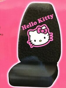 Hello Kitty Plasticolor Seat Covers Set Of Two New Auto Car Truck