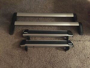 Thule Roof Crossbars And Snowboard Racks