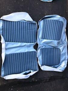 65 66 67 Mustang Coupe Upholstery Blue 1965 1966 1967
