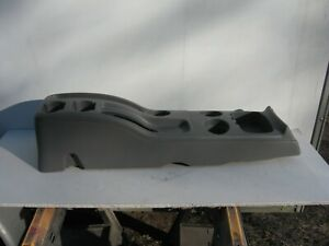 2002 2002 Ford Escape Conplete Console Cup Holder Grey Oem