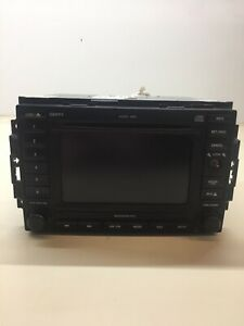 Dodge Magnum Durango 6 Disc Cd Dvd Navigation Gps Radio Rec 56038646am Oem