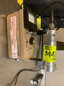 Ludlum Measurements Model 14c Geiger Counter With Model 44 7 Probe