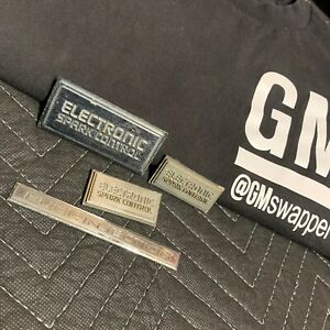 Electronic Spark Control Fuel Injection Emblem Set Chevy Gmc Truck 1981 1991