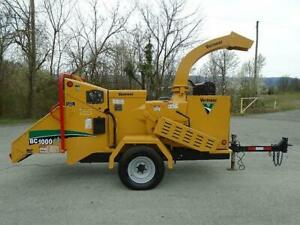 2014 Vermeer Bc1000xl Wood Chipper brush Chipper Forestry Arborist low Hrs