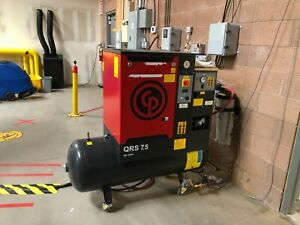 Chicago Pnuematic Air Compressor And Dryer