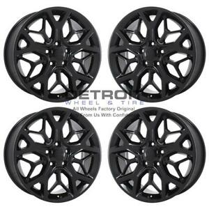 20 Jeep Grand Cherokee Gloss Black Exchange Wheels Rims Factory Oem 9181 201