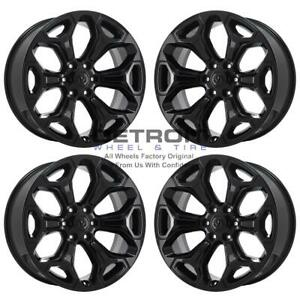 22 Dodge Ram 1500 Gloss Black Exchange Wheels Rims Factory Oem 2685 2019 2020